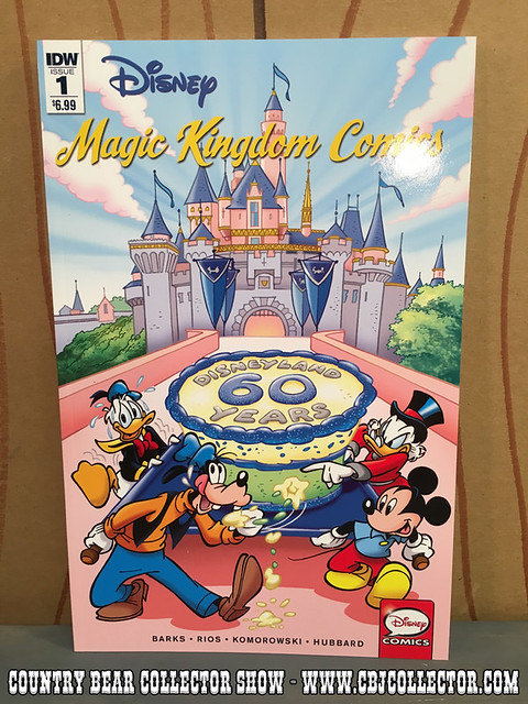 2016 Disney Magic Kingdom Comics by IDW - Country Bear Jamboree Collector Show #056