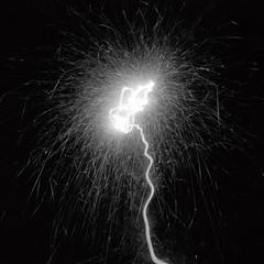 OBSCURA-BOOK / pinhole light sculpture - a sparkler by Obscura Book