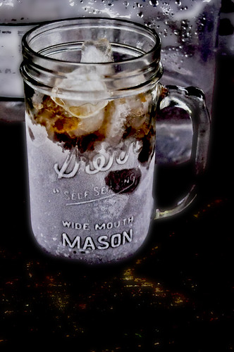 Cold drink in a Mason jar - v | by SouthernBreeze
