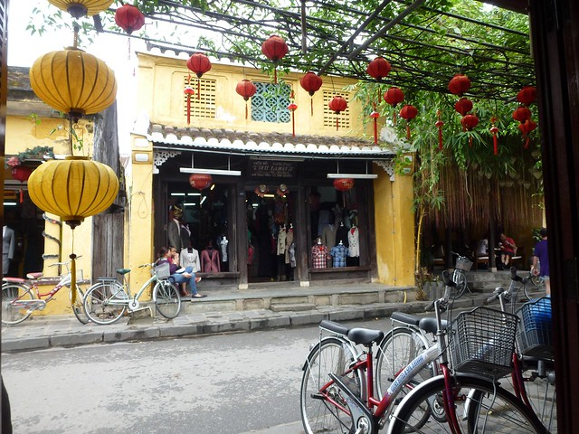 One of the many tailors in Hoi An