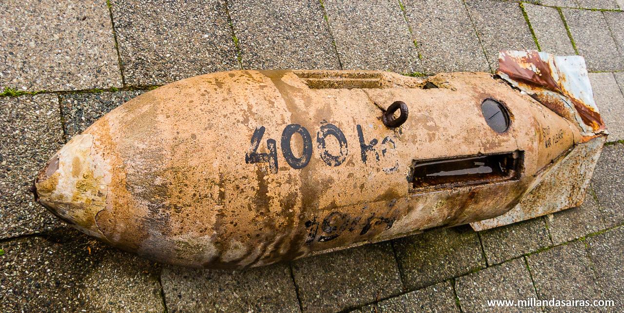 Bomba en conmemoración de la batalla de Arnhem