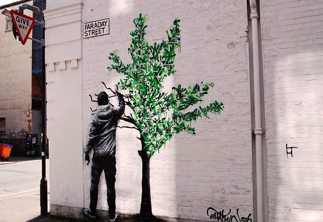 Martin Whatson, Street Art, Manchester