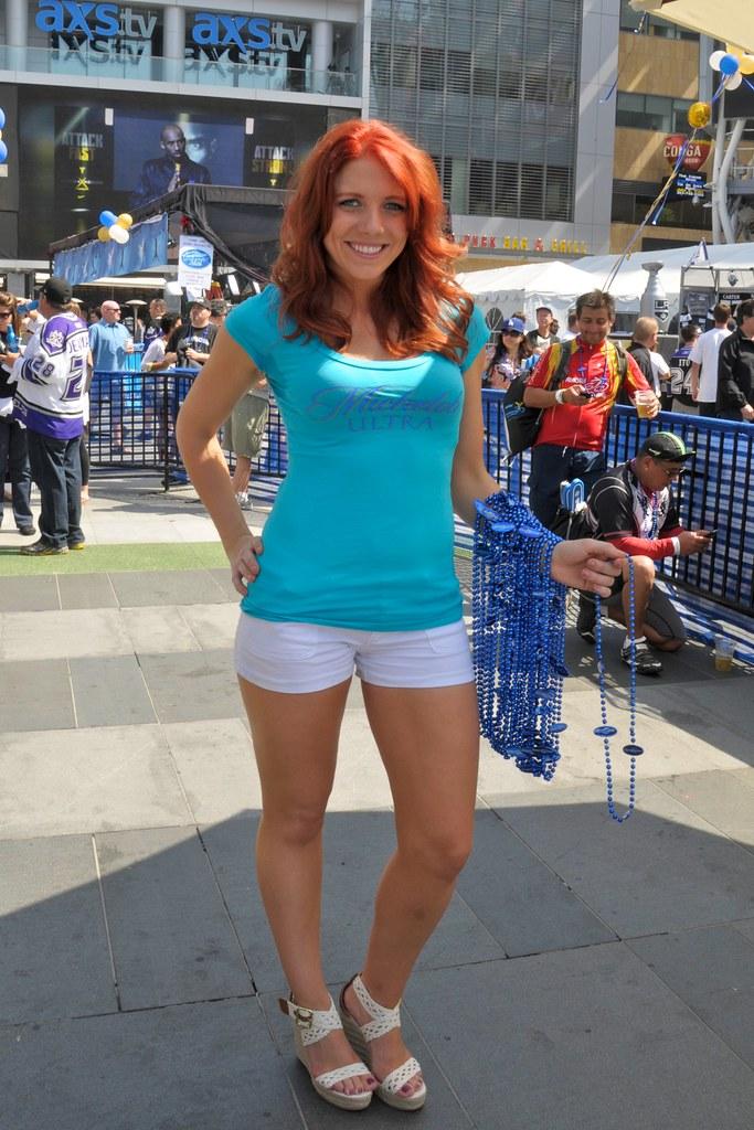 Michelob Ultra Model at LA Live, May 20, 2012 | Flickr - Photo ...
