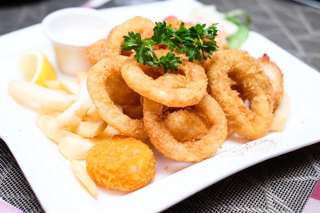 Mariners' Corner Restaurant: Seafood Platter