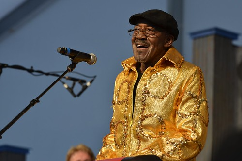 Ironing Board Sam at New Orleans Jazz & Heritage Festival, Sunday, April 29, 2012 | by Offbeat Magazine
