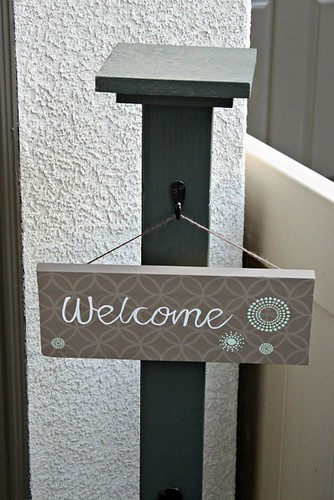 DIY Welcome Sign_3 | by AddisonShaw