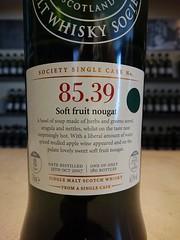 SMWS 85.39 - Soft fruit nougat