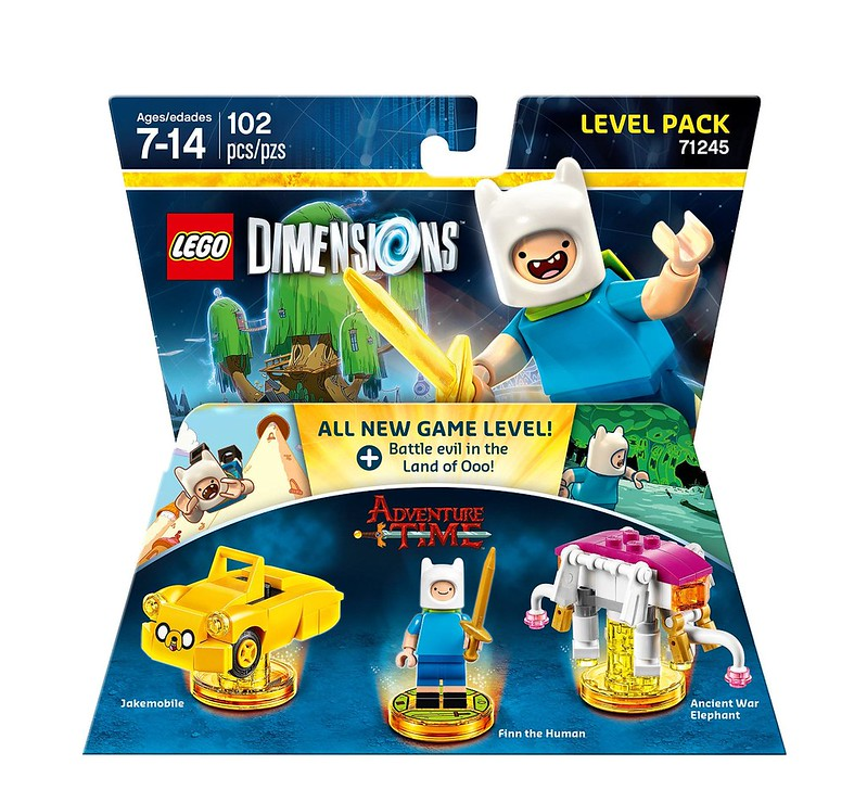 LEGO Dimensions 2016: 71245 - Adventure Time Level Pack