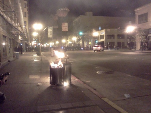 Trashcans on Fire | by KQED News