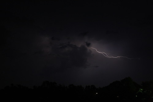 Lightning in Blount County tonight | by abc3340weather