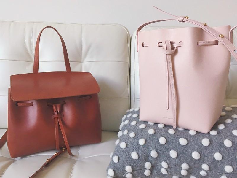 Lady bag - Brown Mansur Gavriel PrVwt