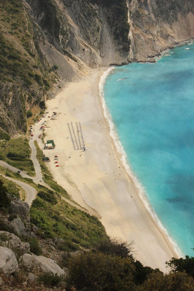 Myrtos beach, Kephalonia, Greece