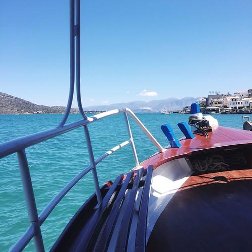 Crete boat to Spinalonga