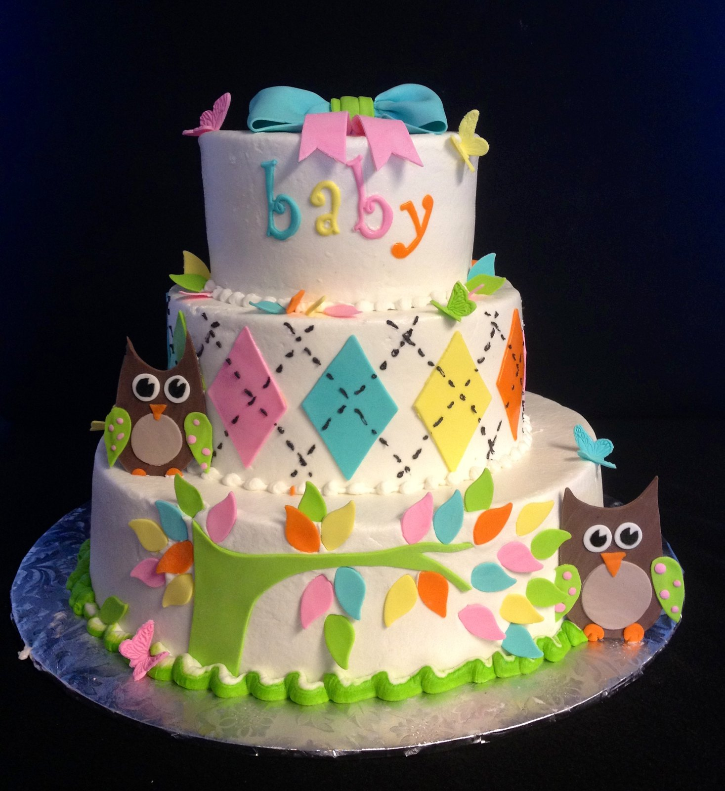 Owl Cupcakes For Baby Shower: 6996696410_bfb8c20eff_h.jpg