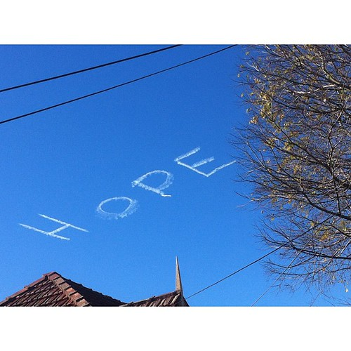 Today's sky-writing brought to you by the word Passé #sydney #yawn | by Fork it food blog
