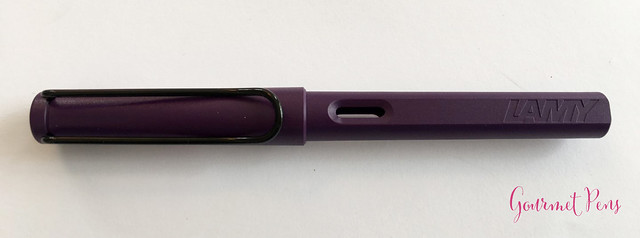 Review Lamy Safari Dark Lilac FP @Fontoplum0 019