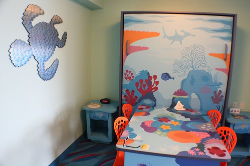 Finding Nemo room at Disney's Art of Animation Resort | by insidethemagic