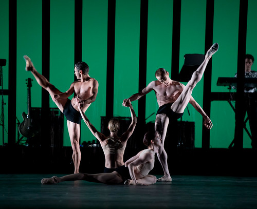 Paul Kay, Melissa Hamilton, Olivia Cowley and Edward Watson in Carbon Life © Bill Cooper/ROH 2012 | by Royal Opera House Covent Garden