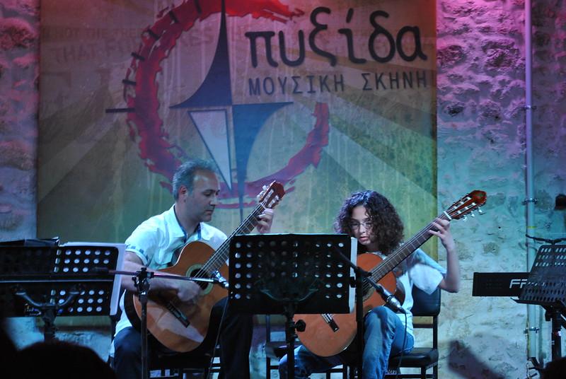 ΒΡΑΔΙΑ ΚΙΘΑΡΑΣ - ΠΙΑΝΟΥ 2011