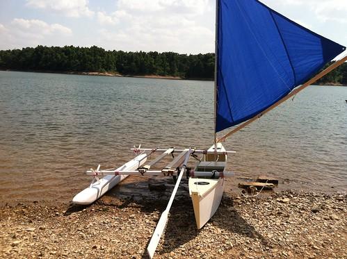 Finally a decent test sail!