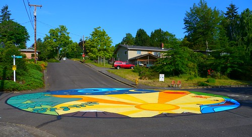 Street Mural 26th Olive Eugene Oregon This Street Mu Flickr