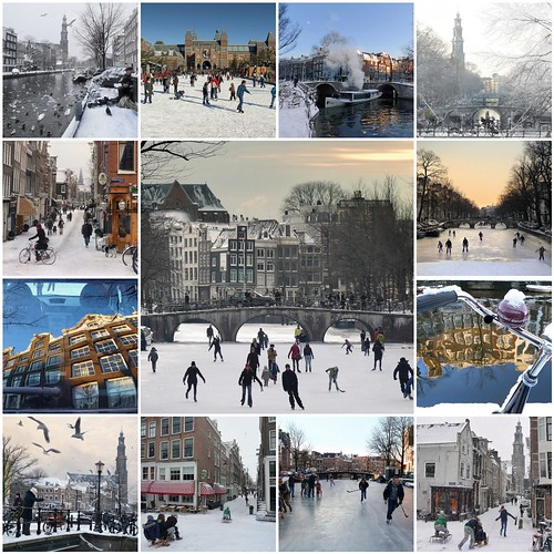 Amsterdam in the winter | by B℮n