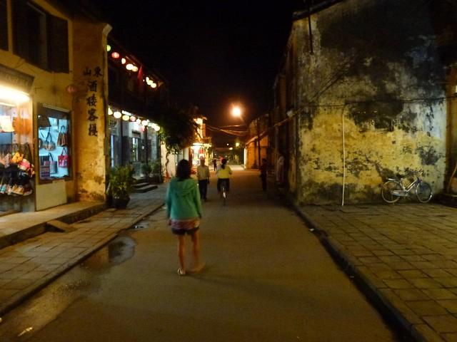 The quiet streets