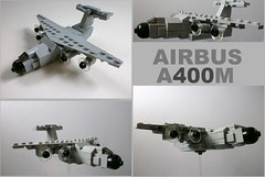 Airbus A400M by The Legonator