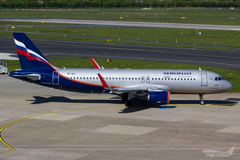 Aeroflot - A320 - VP-BTI (1)