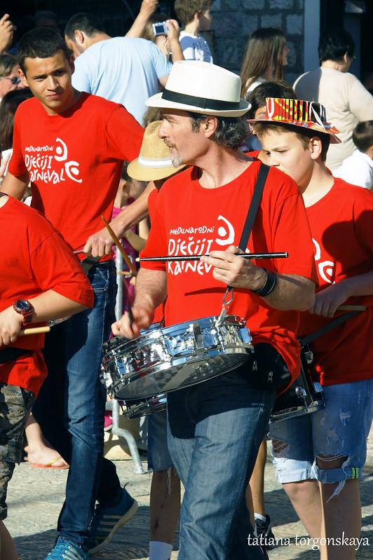 Оркестр барабанщиков