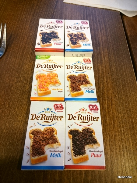 flakes to melt on toast De Ruijter