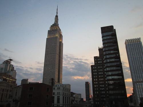 Manhattanhenge 11Jul2012, NYC