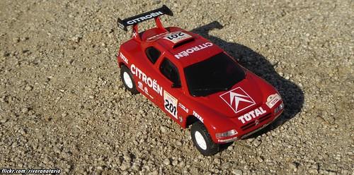 Ixo 1:43 Citroën ZX Rallye Raid 1996 - Granada Dakar 1996