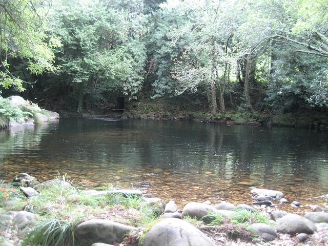 Río Vilacoba en Lousame