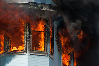 SFFD fights four alarm fire on Valencia at Duboce in San Francisco-0211 | by Steve Rhodes