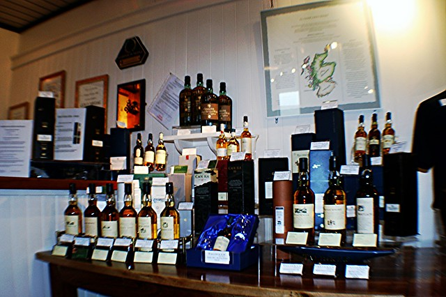 Talisker whisky products