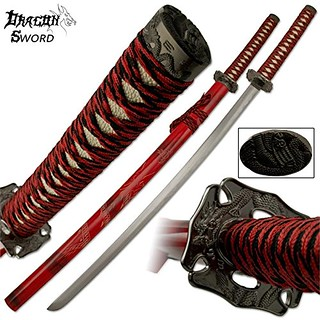 Samurai-sword-dragon-katana-red-ghost