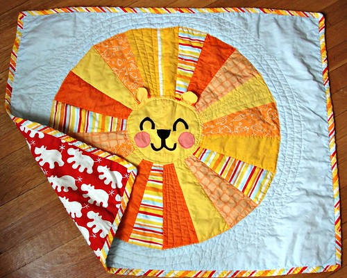 Solomon's finished quilt | by katedeerie