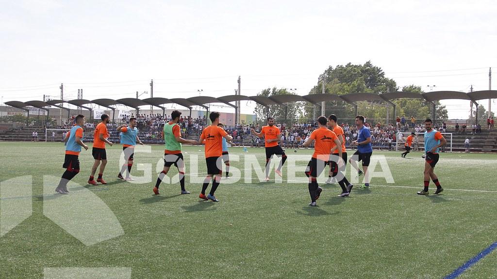 SillaCF-CDUtiel 2-0, Ida 2ª eliminatoria ascenso 3ª (Ra)