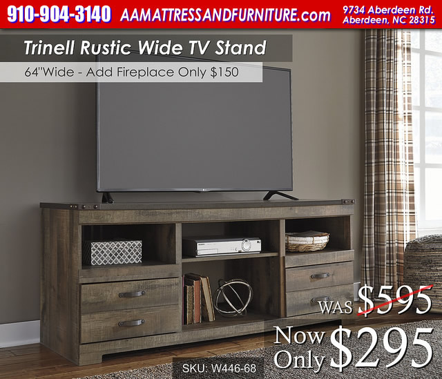 Trinell TV stand WM