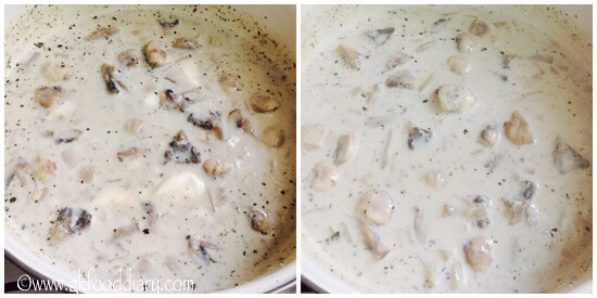 Mushroom Soup Recipe for Toddlers and Kids - step 3