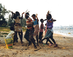 Beach, Maputo Mozambique by egallerie1