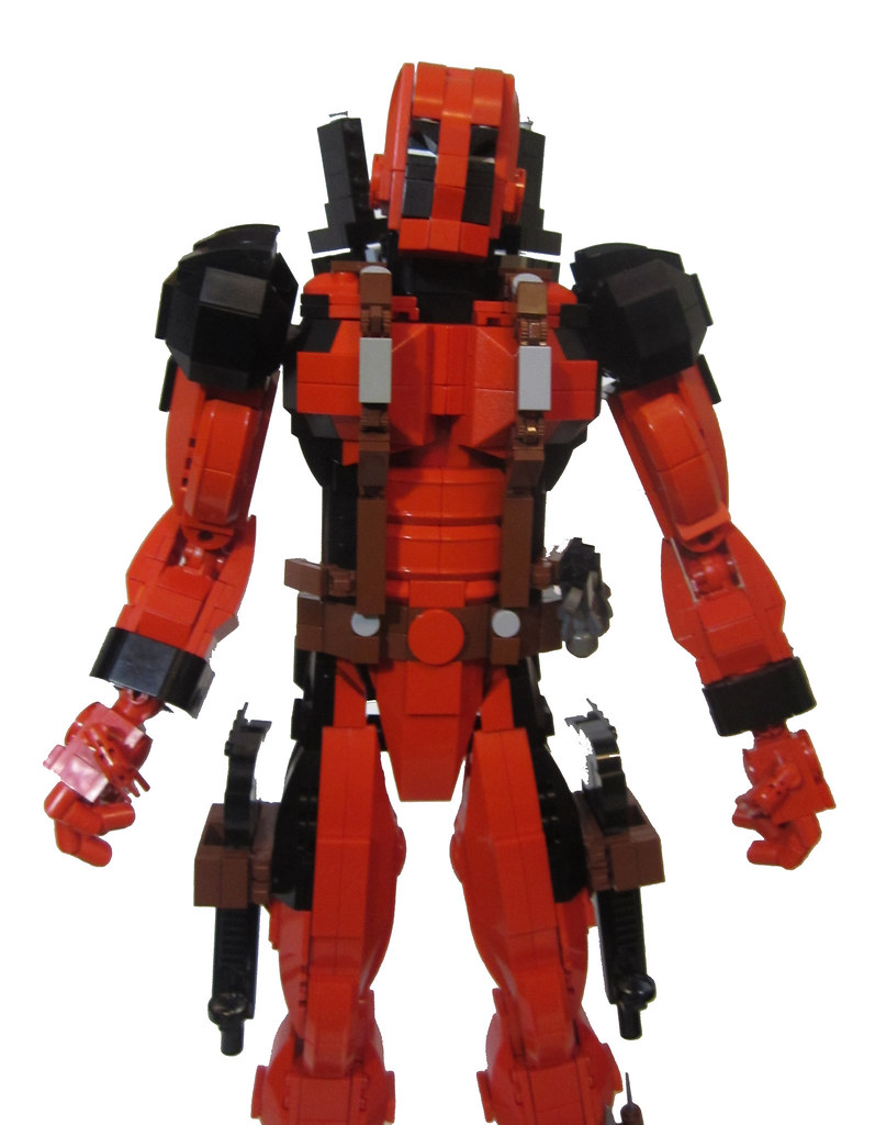 how to make a lego mega suit