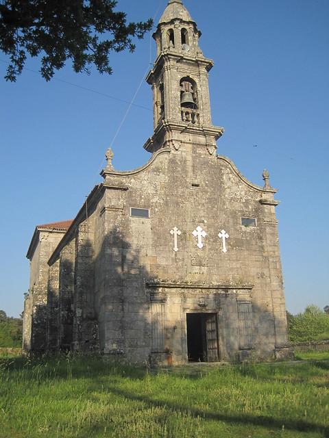 Iglesia de San Breixo en Barro