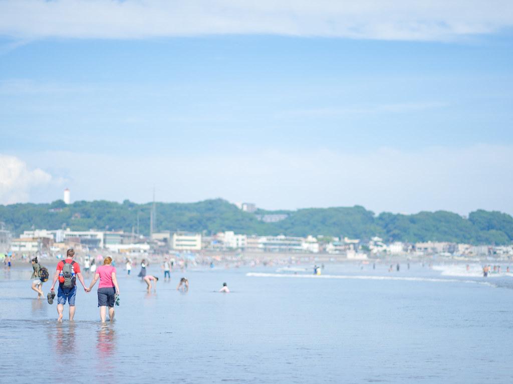 浜辺を歩こう