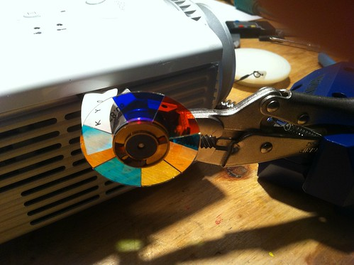 Color wheel mounting | by hudson