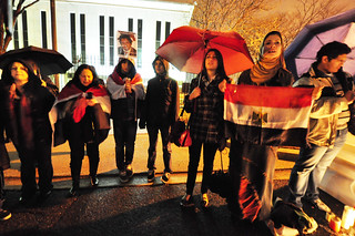 Candlelight Vigil for Egypt | by Ana Santos