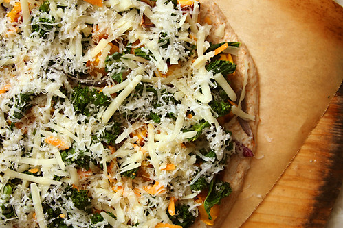 squash kale pizza 3 | by crumblycookie