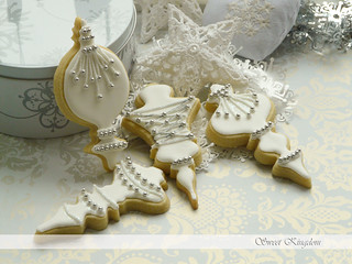 White Christmas cookies | by Milena ❧