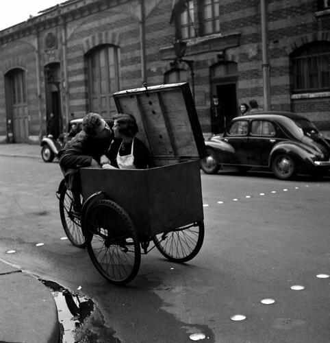 Robert Doisneau -Baiser 1950